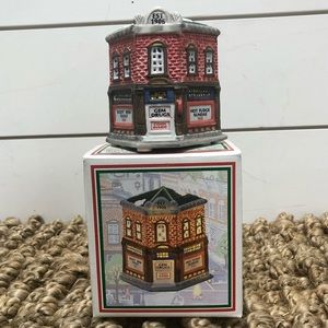 Corner Drugstore Christmas Decor Gem Drugs Vintage